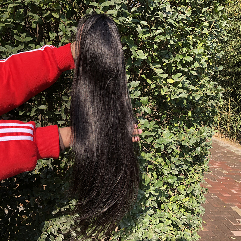 Wholesale virgin brazilian real human hair lace front wigs,free sample black women lace front wig human hair