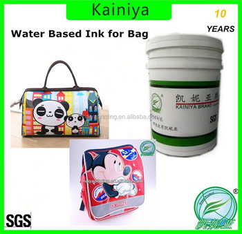 cheap water based ink for non woven bag printing