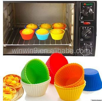 Eco-friendly FDA Baking Cup Tools Bakeware Kitchen Silicone Cake Mold,mooncake mold