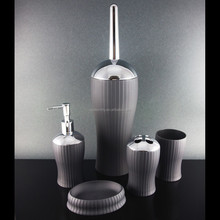 Hotel Plastic bathroom accessory set