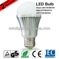 4W 5W 6W 7W TUV CE RoHS IEC Approved LED Rechargeable Bulb