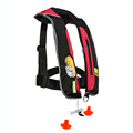 SOLAS approved double chamber inflatable life jacket for sea fishing