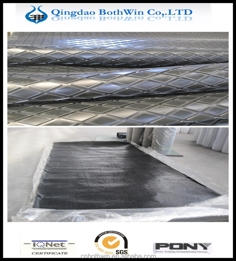 Conveyor Rubber Ceramic Pulley Lagging with CN-Bonding Layer