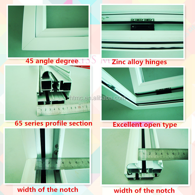 Free house design aluminum windows and doors with Germany door hardware