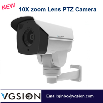 VGSION 2 Megapixel Amberalla Outdoor Use 10x ZOOM Lens PTZ Camera