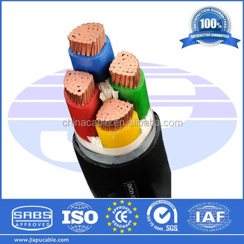 Armoured Cable Prices per meter of Copper Core XLPE/PVC Insulated Power Cable LV MV Multi Cores