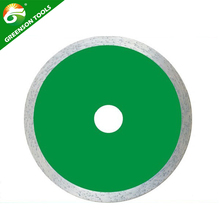 Best selling hot pressed sintered continuous rim diamond saw blade fast cutting ceramic tile
