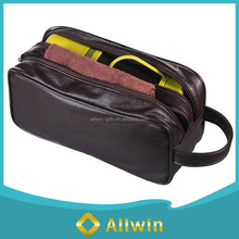 Stylish toiletry bags, men leather travel toiletry bag