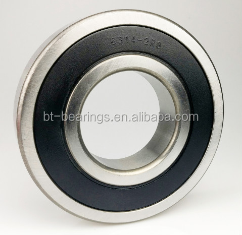 Factory Supply Best sale deep groove ball bearing for electric motor 6314 6314ZZ 6314-2RS 6314N
