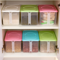 Home Kitchen Fresh Food Refrigerator Containers Plastic Storage Box