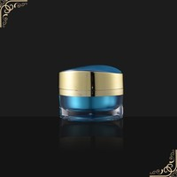 15g 30g 50g Colored round Shape Mini Cosmetic Luxury Cream Jar