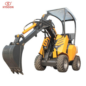 Chinese hot selling 23hp U.S famous engine articulated mini wheel loader