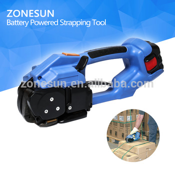 ZONESUN manual poly strapping sealer and tensioner set sealer and tensioner set manual sealer machine