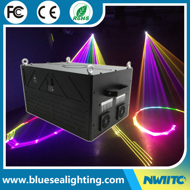Programmable show system sky logo text 5 watt rgb light laser projector