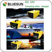 Mountaineer Lighting Solar Power Portable Generators DC 50W Small Solar System Mini Solar Kits