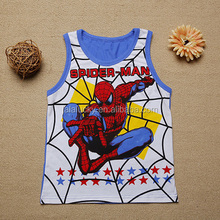 fashion spider-man 3D printed summer baby boy t-shirt