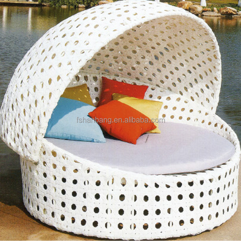 garden rattan day beds furniture outdoor sofa lounger set
