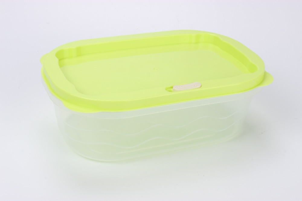 High quality plastic crisper box box with lid
