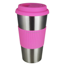 330ml double wall coffee thermos travel mug