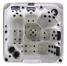 Hot-selling 5-person outdoor hot tub spa at direct factory price