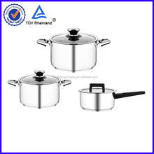 New!!!! stainless steel kitchen cookware looks like aluminum casserole with best quality