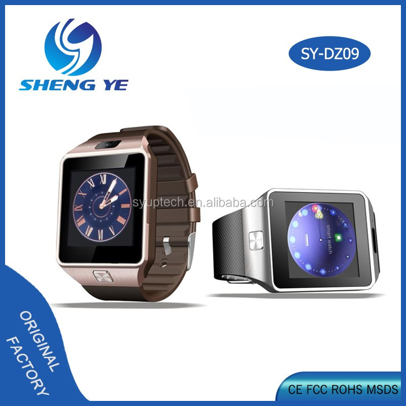 Bluetooth Smartwatch Bands Pedometer Digital Smart Watch DZ09 With Touch Screen
