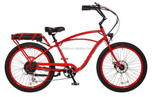 cruiser style electric bike pedal E-bike new style electric bicycle 250W 500W