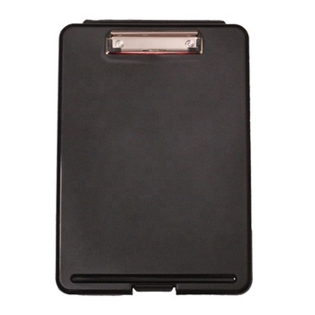 Hot sale Officemate Plastic Slim Clipboard With Storage Box