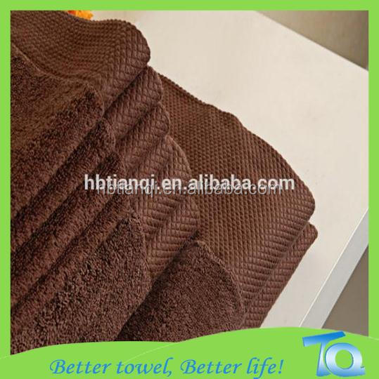 Factory directly selling 100% pakistan cotton large size coffee hotel bath towel spa towel