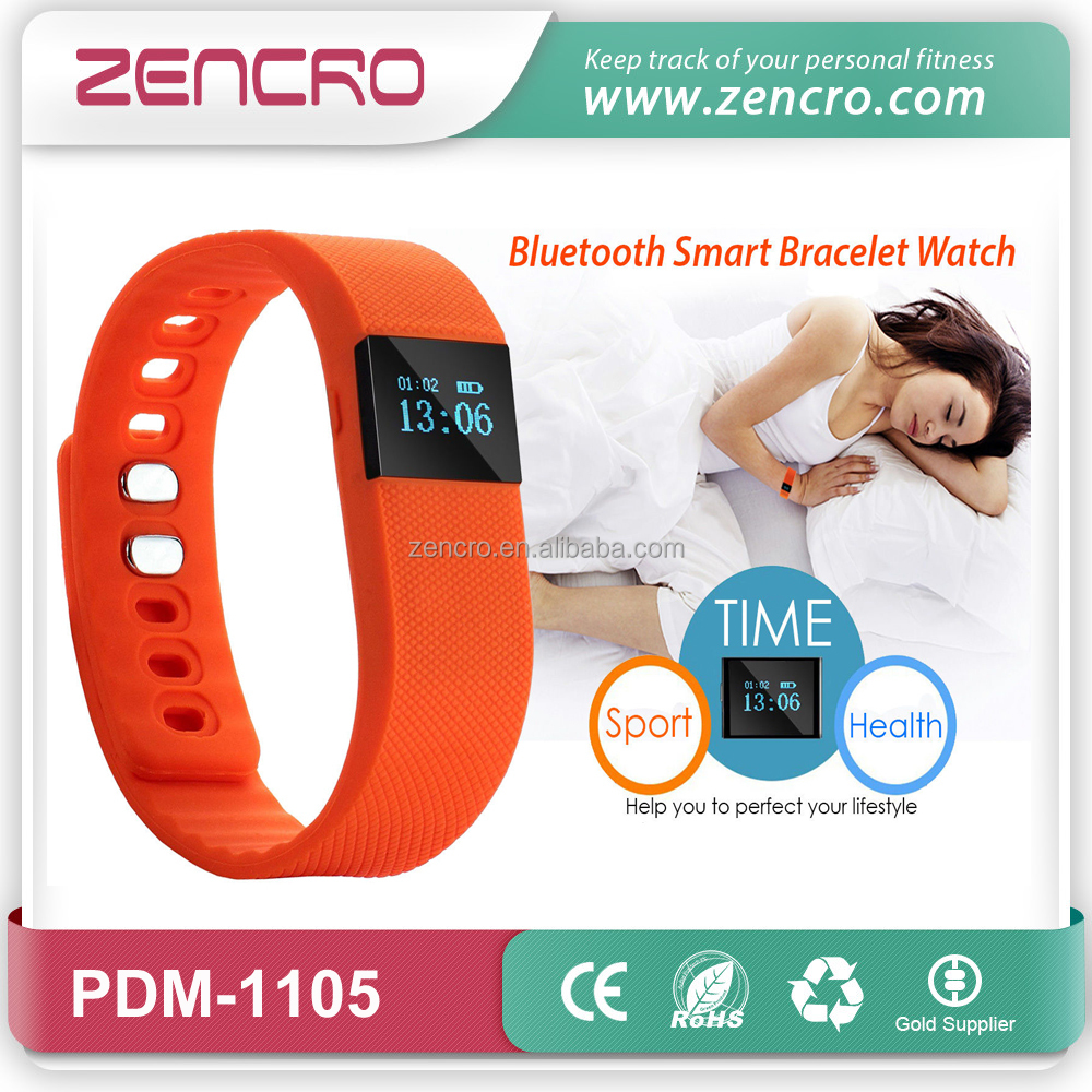 Zencro Sport Fitness Fitbit Charge HR Bluetooth Veryfit 2.0 Smart Silicone Wristband Activity Tracker Pedometer