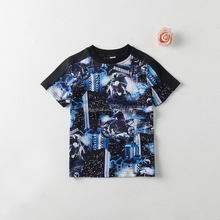 kids t-shirt, cotton and spandex, short sleeve