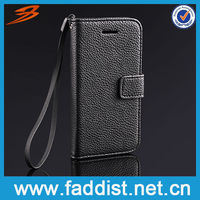 New Product Flip Leather Wallet Case Cover for iphone 5c Cheap