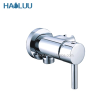 HL59034 hot sale new wall mount chrome brass bracket with water mixer
