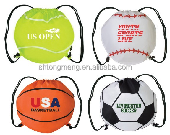 Custom Soccer Ball/ Basket Ball/ Ball Drawstring Bag