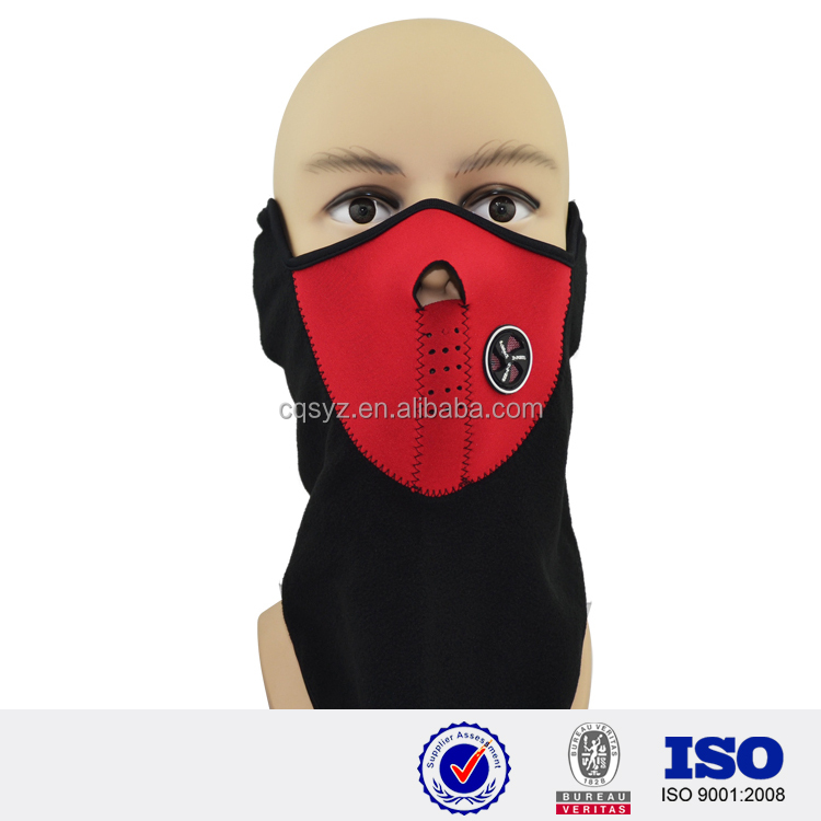 custom neoprene nose protected mask sun product mask summer promotional product face mask with design