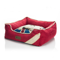 Luxury Removable Washable Canvas Pet Sofa Bed For Small Dog