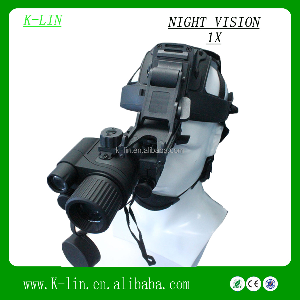 Head Mounted Night Vision Monocular Superior Resolution