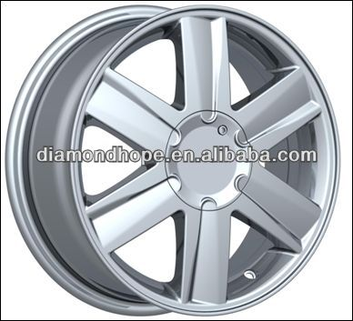 hot sale blue chrome rims in stock(ZW-P579)