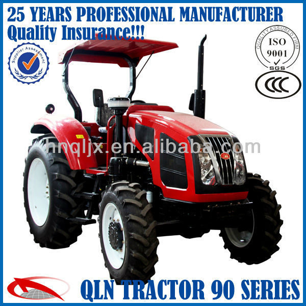 YTO 85hp 4*4 3-point linkage,traction system wheeled farm tractor