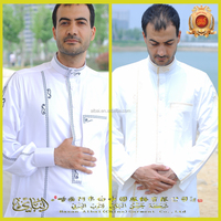 The new 2015 Muslim dress Arab islamic hui clothing men's thobes