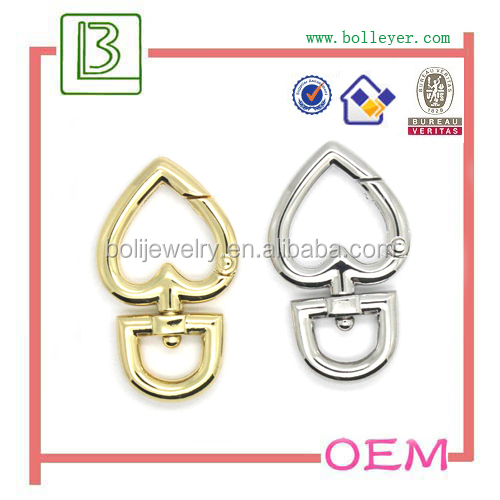 Metal Swivel Eye Trigger Snap Hook for handbag