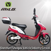 350W Mini Electric Motorcycle Fast Speed Electric Scooter with pedal