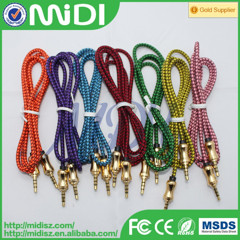 high quality car diagnostic cable rca cable red white yellow 100m rca cable