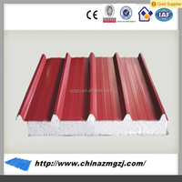 2015 hot-sale exterior wall board sandwich panel used sandwich panel rockwool