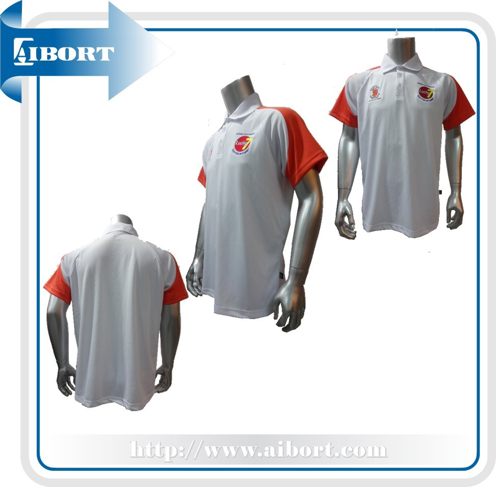 embroidery Men's polo shirt blank Men's polo shirt