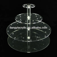 4 Tier Crytal Acrylic 40 Cake Pops Display Wedding Buffet Stand Cupcakes Lollipop Shelf