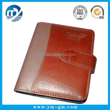 New products leather cover pu notebook / creative covers for hardcover notebook