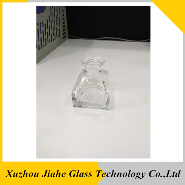 perfume/attar oil industrial use and rubber stopper sealing type flange pagoda shape aroma diffuser glass bottle 100ml
