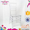 polycarbonate plastic acrylic resin stackable event wedding chiavari tiffany chair