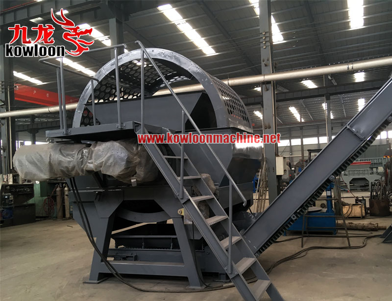 Full automatic waste old tire recycling plant